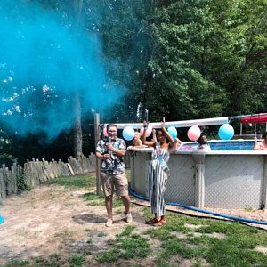 Gender Reveal Powder Smoke Cannons Premium Holi Powder Smoke Etsy Gender Reveal Smoke Gender Reveal Baby Reveal Party