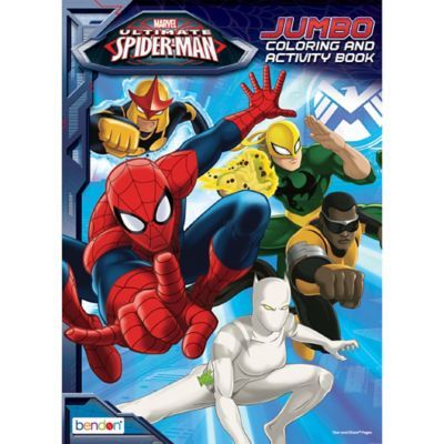 Spider Man Coloring Activity Book Birthday Party Supplies In 2021 Spiderman Party Supplies Spiderman Party Spiderman Birthday