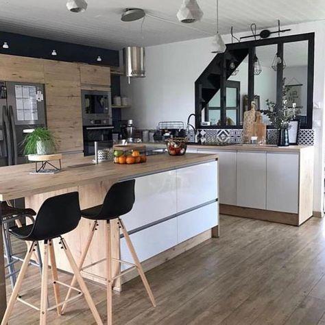 "Inspi_Deco on Instagram: ""▪️ Kitchen decor 💫 😍 Inspi @mademoiselle_hortense_ #picoftheday #instalike #kitchen #kitchendesign #kitchendecor #kitchenview #homedecor…"""