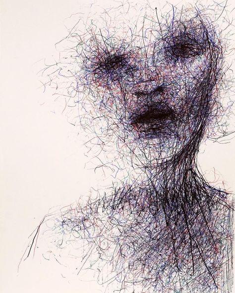 "ناجي شلهوب Naji Chalhoub (@najimir) on Instagram: ""(SOLD) #art #artwork #arte #illustrate #illustration #doodle #scribble #sketch #sketching…"""