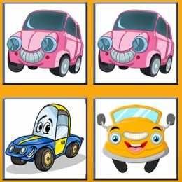 لعبة ذاكرة السيارات اللطيفة Funny Cars Memory Car Memory Car Humor Toy Car