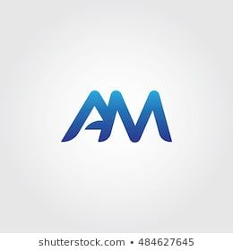 The Letters A And M Combined Icon Logo Templates Am Initial