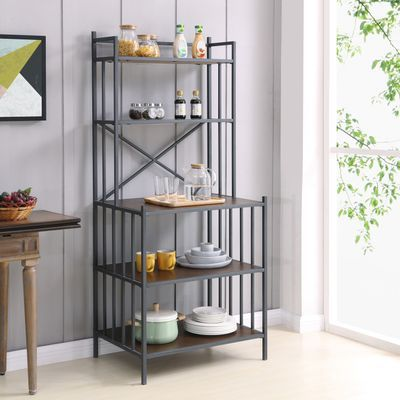 Bayside Rustic Baker S Rack With Images Bakers Rack Rustic