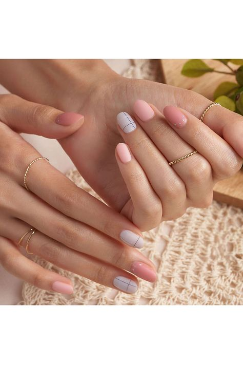 Probably The Best Nail Stickers Brands Out There – My hair and beauty Best Acrylic Nails, Summer Acrylic Nails, Acrylic Nail Designs, Spring Nails, Summer Nails, Simple Acrylic Nail Ideas, Cute Simple Nail Designs, Squoval Acrylic Nails, Round Nail Designs