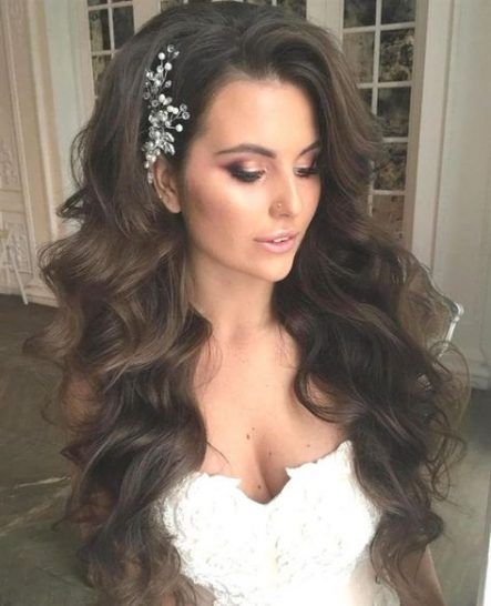 Hairstyles Long Curly Wedding Waves 52 New Ideas Long Hair Styles Long Hair Wedding Styles Hair Styles