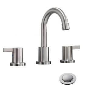 Top 10 Best 2 Handle Bathroom Faucets In 2020 Reviews Bathroom Faucets Faucet Widespread Bathroom Faucet