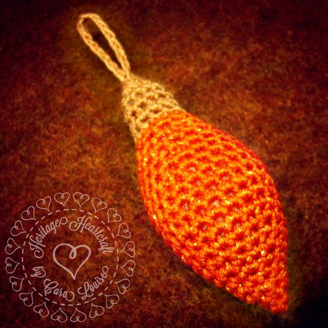 Heritage Heartcraft's Old Fashioned Christmas Light Ornament Pattern for thread crochet has just gotten a bit of a facelift... AND is ON SALE now and throughout the month of November!