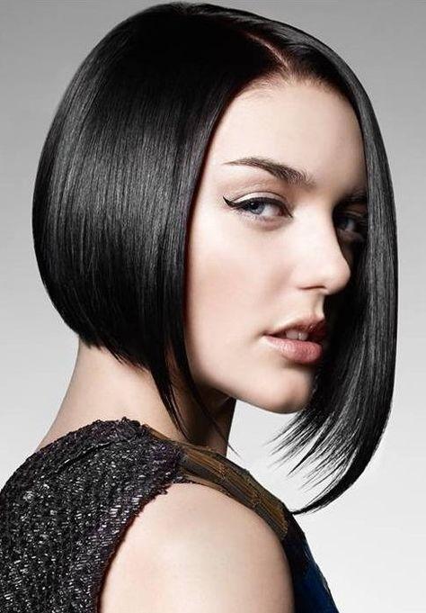Asymmetrical Bob Hair styles