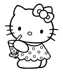 Risultati Immagini Per Immagini Hello Kitty Da Stampare E Colorare