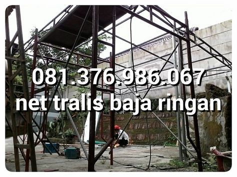 kanopi baja ringan bekas 081 376 986 067 bajaringan 199 rb atap 120 pagar