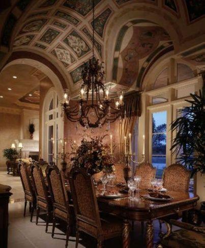 Elegant Dining Room Sets Grand Mediterranean Dining Room High End Interior Design Firm Decor Traditional Interior Design Elegant Dining Room Elegant Dining