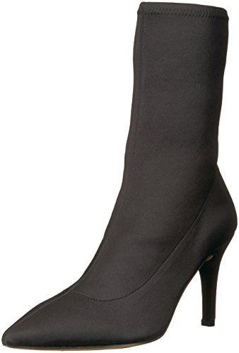 Becca Pointed Toe Sock-Style Ankle Boot