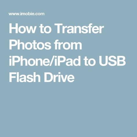 How to transfer photos from iPhone to flash drive? This guide will show you 3 simplest methods to help you transfer photos from iPhone to a USB flash drive. These methods also apply to iPad. Iphone Life Hacks, Cell Phone Hacks, Technology Hacks, Computer Technology, Computer Help, Computer Tips, Iphone Information, Iphone Secrets, Ipad Hacks