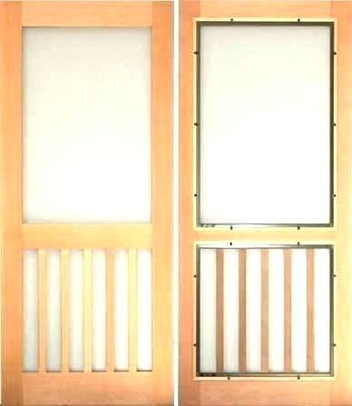 Wood Storm Doors Home Depot Combination Wood Storm Doors