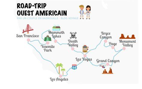 Road Trip Dans L Ouest Americain Road Trip Ouest Americain Road