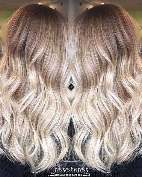 11 Lange Haare Farben Haarfarben Wellige Frisuren Lange Haare