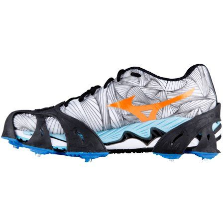 STABILicers Men/'s Stabilicers Sport Runners Ice Cleats,Grey,L 10.5-12.5 Mens