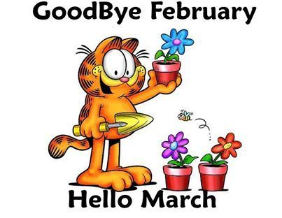 Goodbye February Hello March Images Pictures Photos Wallpapers