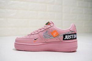 Nike Air Force 1 Low Pink Black Orange 616725 800 Womens