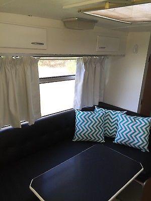 Details about Caravan bunks viscount 1976 Royale vintage retro