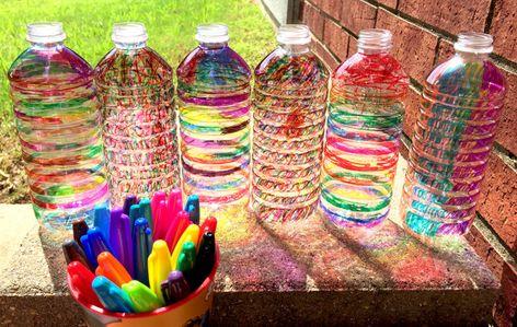 DIY Sun Catcher: A Fun Way To Recycle Water Bottles
