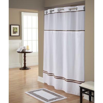 Hookless Monterey Shower Curtain In Hookless Shower Curtain