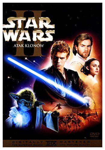 Star Wars Episode Ii L Attaque Des Clones Dvd Region 2 Audio Francais Sous Titres Francais Notice Polish Release Cov Star Wars Film Films Complets