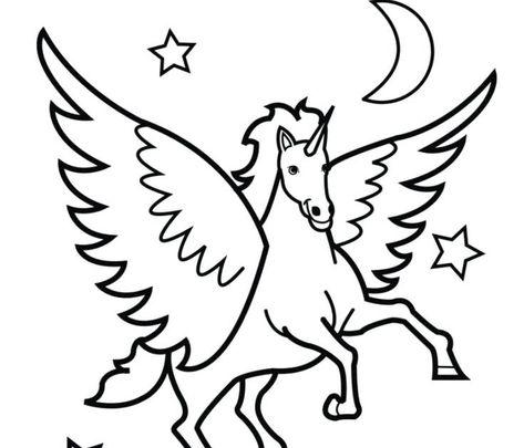 Immagini Da Stampare Di Unicorni E Trinket E Immagini Di Unicorni