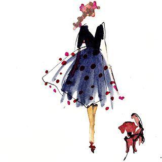 Jazz And I Watercolorillustration Fashioninspiration