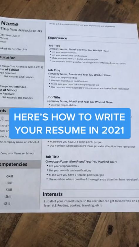 How to Write a Resume That's Seen by Recruiters