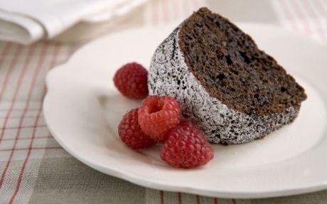 Hopped-up on Caffeine Rich Chocolate Cake
