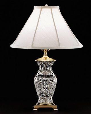 Waterford Waterford Buffet Lamp Floor Lamp Neenas Lighting Crystal Table Lamps Crystal Lamp Waterford Lamp