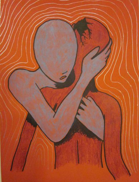 Arte Lowbrow, Arte Peculiar, Arte Indie, Mental Health Art, Mental Health Posters, Wal Art, Trippy Painting, Hippie Painting, Hippie Art