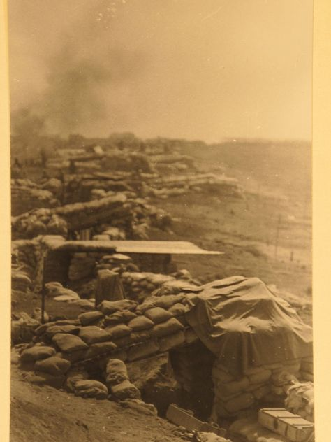 Some of Bravo's digs at Khe Sanh. 4March1968. Photo by Corporal Hale. Thanks to the National Archives. BRAVO! COMMON MEN, UNCOMMON VALOR @ https://bravotheproject.com/. ‪#‎BRAVO‬! ‪#‎USMC‬ ‪#‎NARA‬ ‪#‎VietnamWar‬ ‪#‎KheSanh