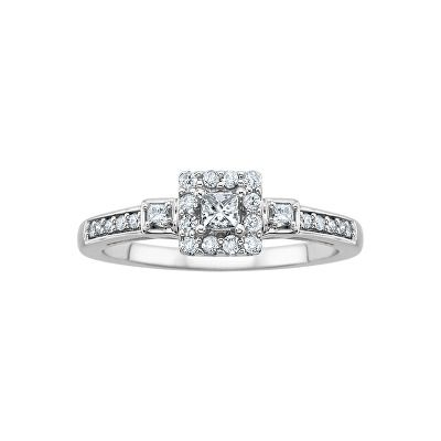 decf3b7bbe95d Jewelry 1/3 ct. tw. Diamond Promise Ring in 10K White Gold | Rings ...