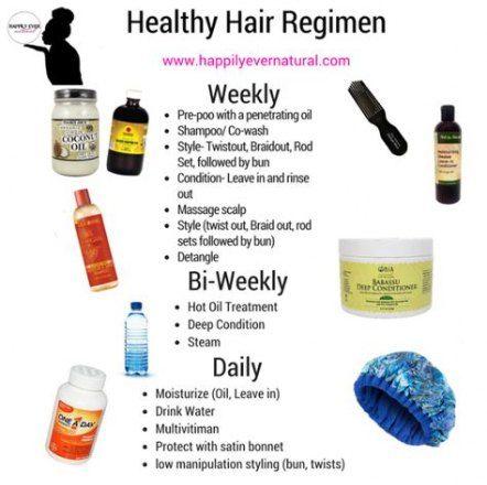 50 Ideas Hair Care Routine Schedule Healthy Hair Regimen