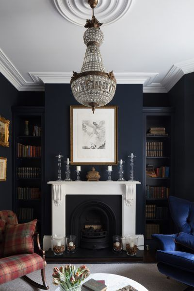Masculine And Moody Rooms Get The Look The Inspired Room Victorian Living Room Dark Living Rooms Livingroom Layout