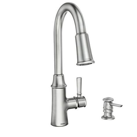Purchased: Moen® Caris One-Handle Pull-Down Kitchen Faucet ...