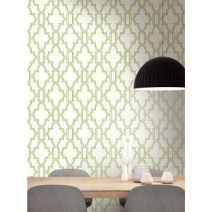 Nextwall Tile Trellis Vinyl Peelable Wallpaper Covers 30 75 Sq Ft Nw31604 The Home Depot In 2021 Peel And Stick Wallpaper White Wallpaper Peelable Wallpaper