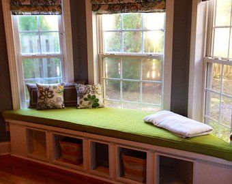 Bay Window Cushion Window Seat Cushions Bay Window Seat Custom Window Seat Cushion