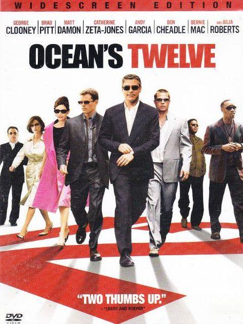Ocean's Twelve DVD Movie