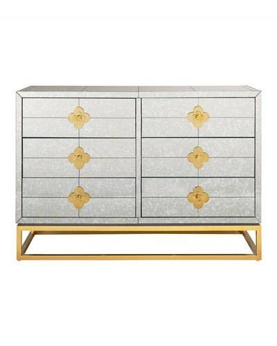 Hbpxh Jonathan Adler Delphine 6 Drawer Credenza In 2021 Six Drawer Dresser Jonathan Adler Furniture