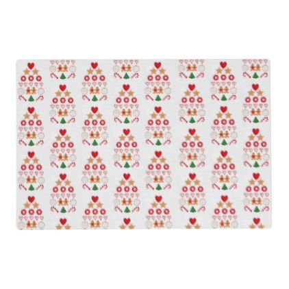 Country Christmas Placemat Christmas Placemats Custom Holiday Card Placemats