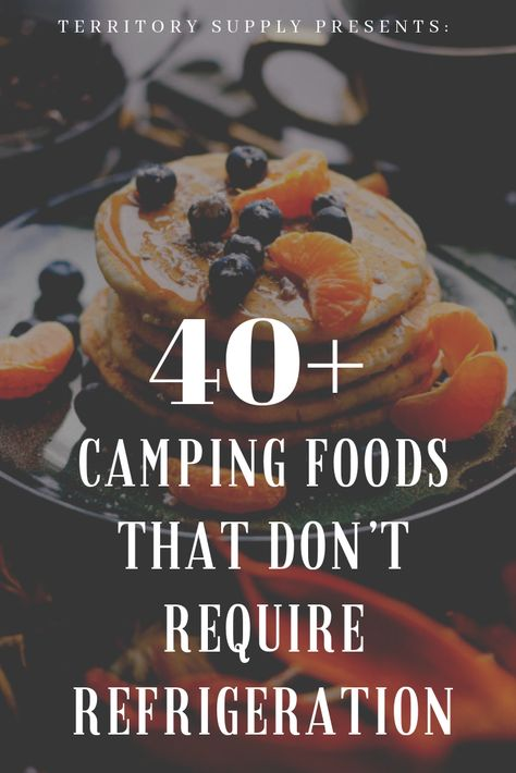 We've put together this list of backpacking and camping foods that do not require refrigeration to give you an idea of what to pack for an overnight camping trip or multi-day backpacking adventure. We hope these camping food ideas inspire your inner outdo Kayak Camping, Camping Diy, Best Camping Meals, Camping Stove, Family Camping, Camping Hacks, Camping Foods, Camping Supplies, Backpacking Meals