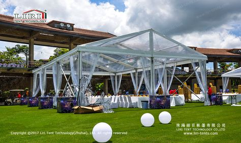 Clear Roof Event Tent | Event tent, Tent sale, Event tent rental