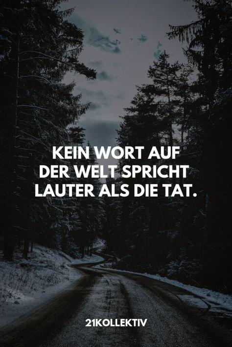Kein Wort auf der Welt spricht lauter als die Tat. | Besuche unseren Blog, um me... - #besuche #Lauter #spricht #unseren