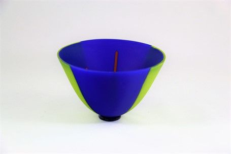 Karin Schwarzer Exquisite Bowl Blue Green Glass Dk Gallery Marietta Ga Dkgallery Bowl Blue Green 10 Things