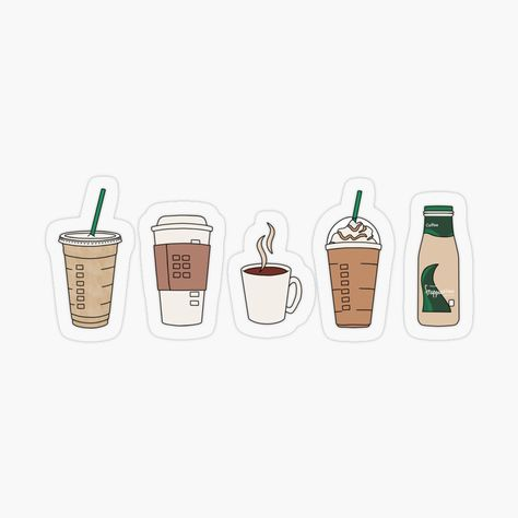Coffee Lovers Sticker Pack Sticker