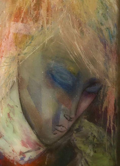 Resin. Artprint available. Contemporary art mixed media.#art #artprint #contemporary #media #mixed #resin