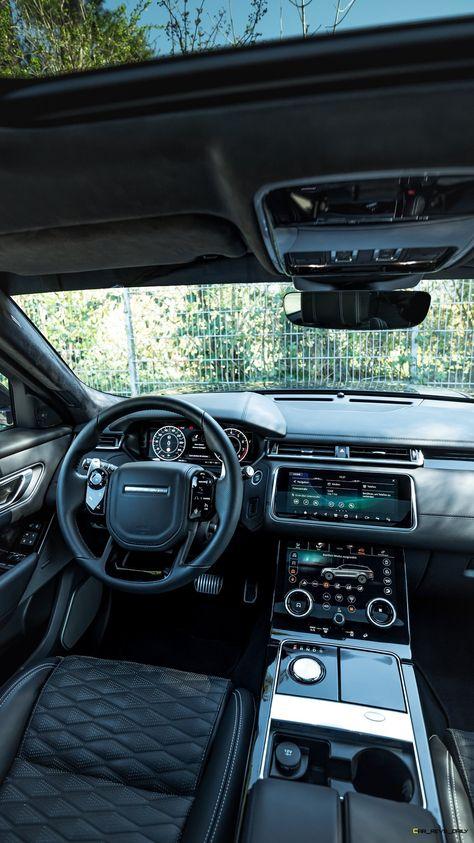 Top Luxury Cars, Luxury Sports Cars, Luxury Cars Interior, Luxury Suv, Dream Cars, My Dream Car, All Black Range Rover, Range Rover Evoque Interior, Carros Suv